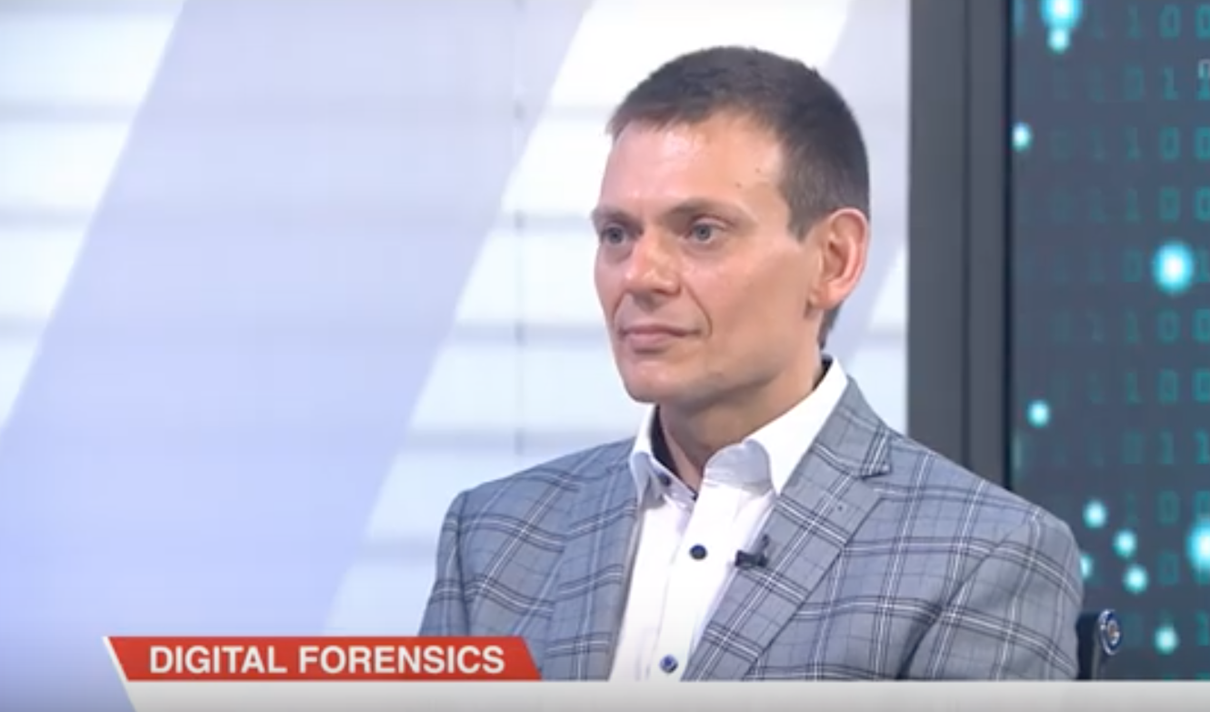 Dr. Pavel Gladyshev speaks about digital forensics on Channel News Asia